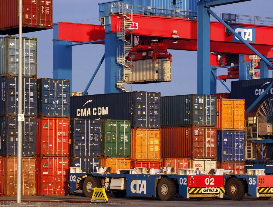 Port w Hamburgu