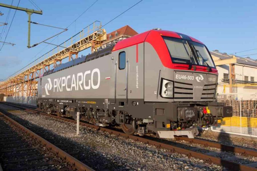 Vectron dla PKP Cargo gotowy do przyjazdu do Polski
