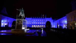 Widok na Pałac Prezydencki, 27 bm.  PAP/Jacek Turczyk