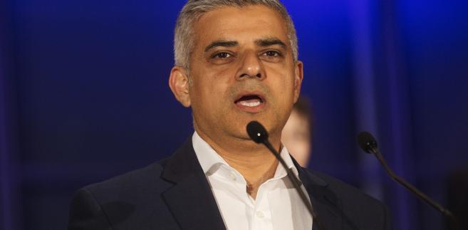 Sadiq Khan, burmistrz Londynu, 6.05.2016