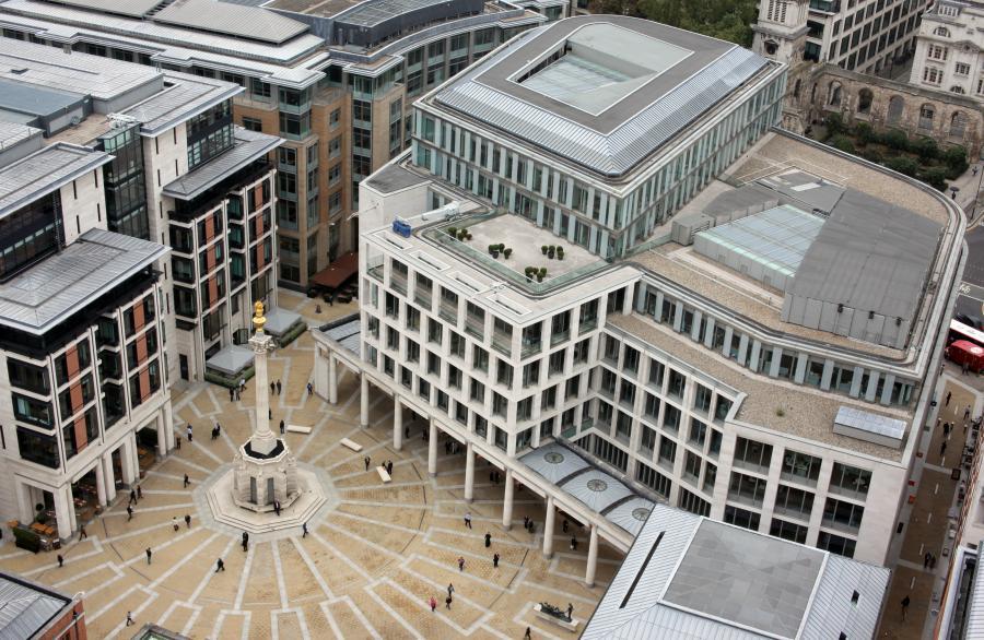 Siedziba londyńskiej giełdy London Stock Exchange przy Paternoster Square.