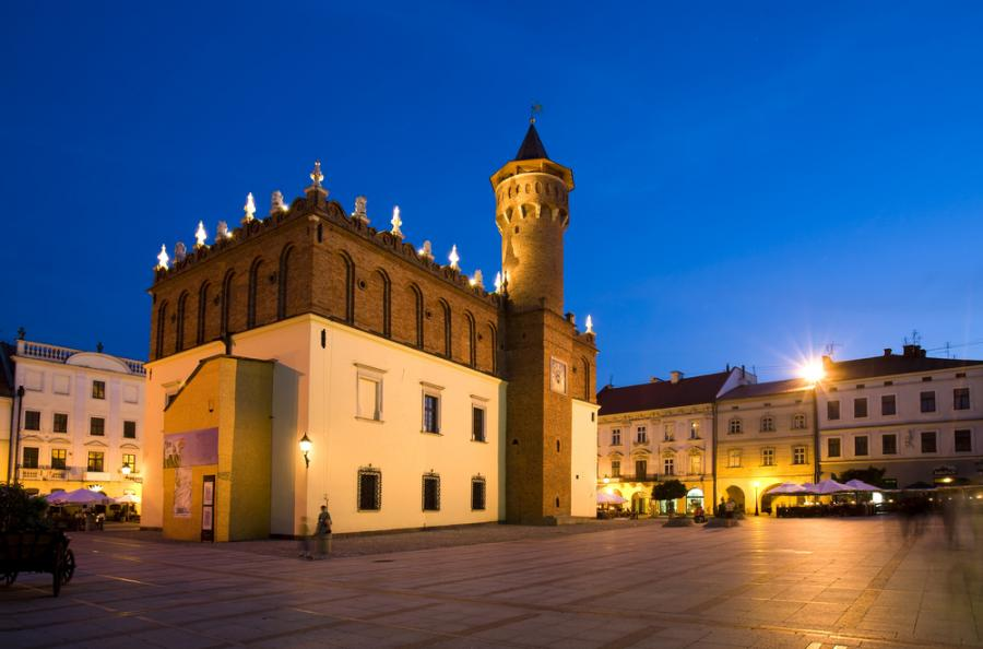 Ratusz Miejski w Tarnowie. Fot. Shutterstock