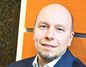 Michał Gołda prokurator w dziale ds. cyberprzestępczości Prokuratury Okręgowej w Warszawie fot. Wojtek Górski