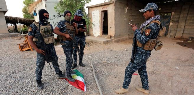 Irackie oddziały w Kirkuku