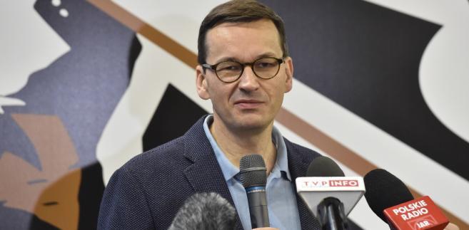 Mateusz Morawiecki na HackYeah