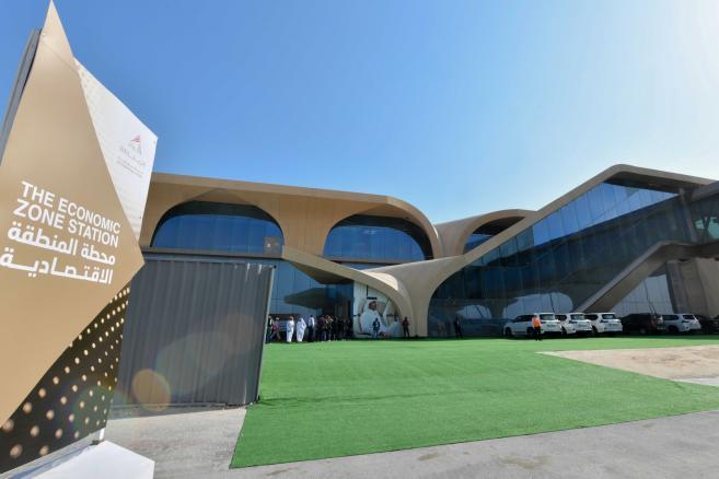 Stacja metra w stolicy Kataru