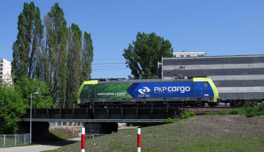 Lokomotywa należąca do PKP Cargo. Fot. materiały prasowe PKP