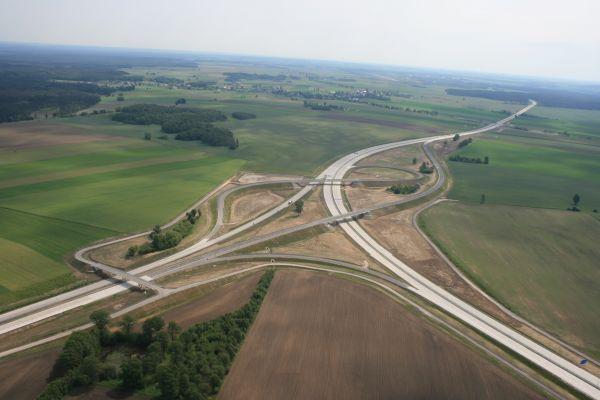 Autostrada A4 - odcinek Zgorzelec - Krzyżowa. Fot. materiały prasowe Ministerstwa Infrastruktury