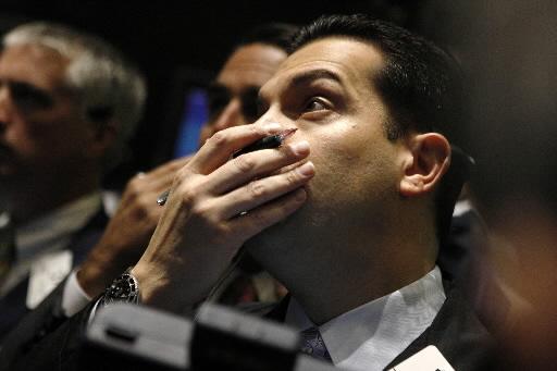 Spadki na NYSE