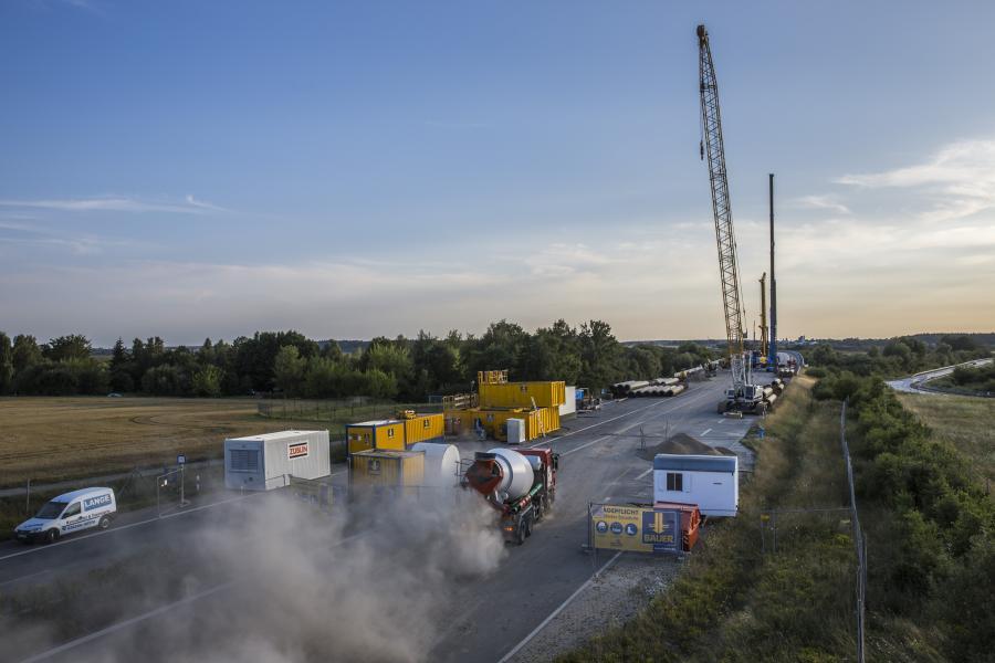 autobahn A20 w naprawie