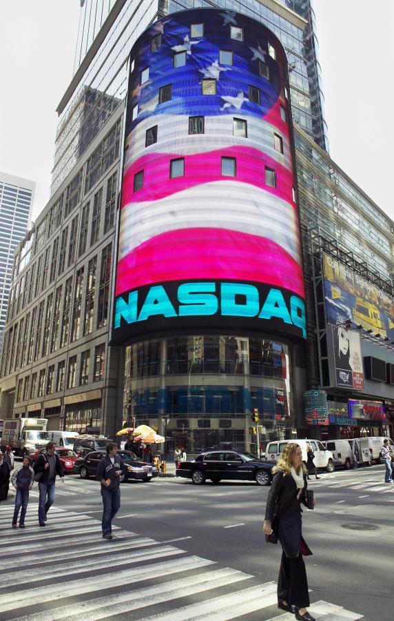 W poniedzialek na NASDAQ też były straty.   Fot, Bloomberg