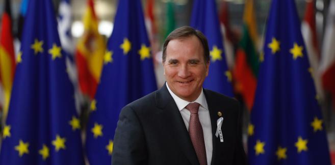Premier Szwecji Stefan Loefven