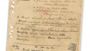 Rozkaz Józefa Piłsudskiego wygłoszony do żołnierzy w pierwszą rocznicę wymarszu z krakowskich Oleandrów fot. mat. prasowe