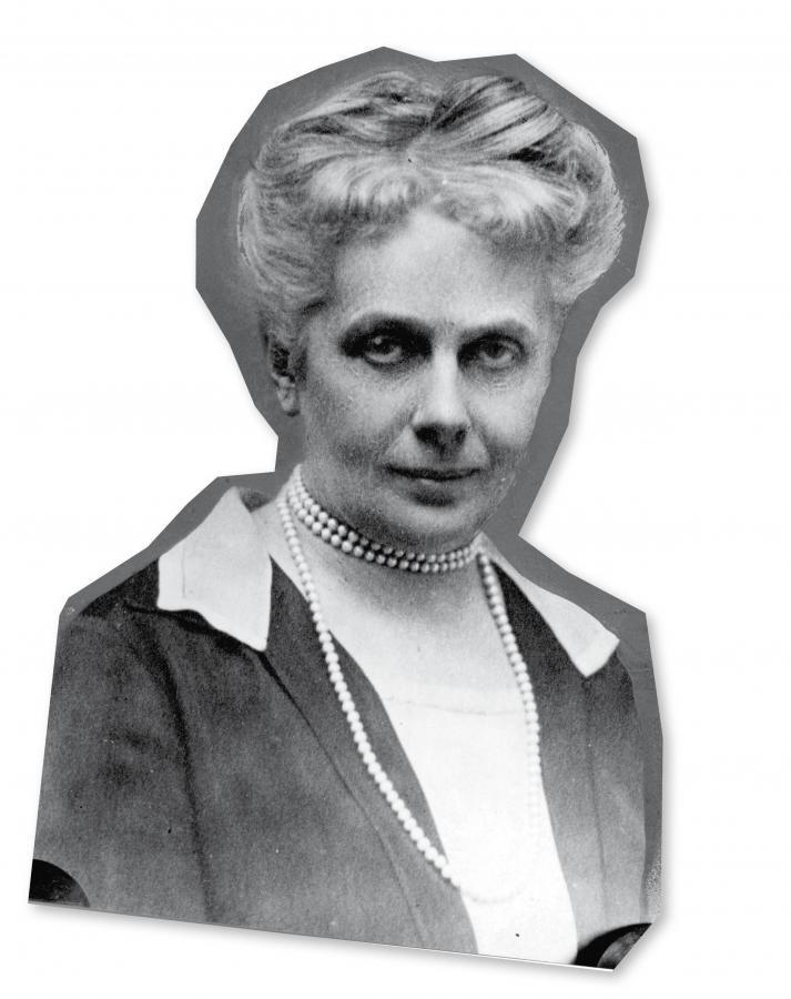 Gabriela Balicka-Iwanowska, w 1919 r. jako jedna z pierwszych posłanek zasiadła w Sejmie Ustawodawczym