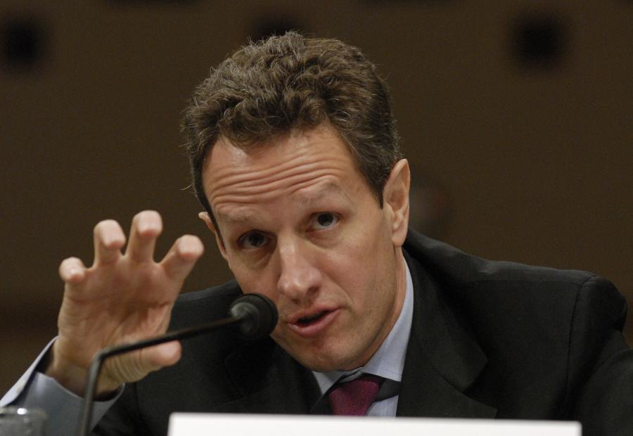 Sekretarz Skarbu USA - Timothy Geithner