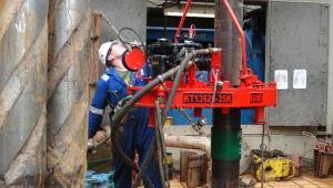 Odwiert Łebień LE-2H firmy 3Legs Resources - pierwsze miejsce w Polsce, gdzie odkryto złoża gazu łupkowego (1). Fot. materiały 3Legs Resources