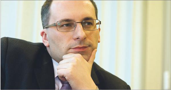 Paweł Zylm, prezesem BRE Ubezpieczenia TU Fot. Wojciech Górski