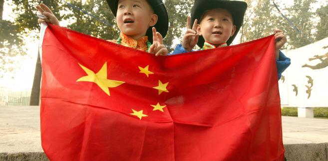 Chińskie dzieci, fot. Stephen Shaver/Bloomberg News