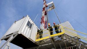 Gaz łupkowy, Pińczów – Odwiert gazu łupkowego Chopin-1 prowadzony przez San Leon Energy Plcs (2)