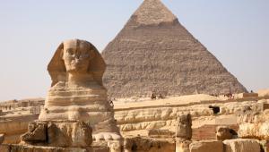 Egipt, Sfinks i piramidy, fot. N Mrtgh