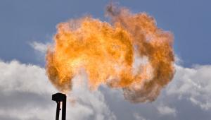 Wydobycie gazu