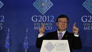 Jose Manuel Barroso podczas konferencji w Los Cabos, Meksyk, 18 czerwca 2012. © European Union, 2012