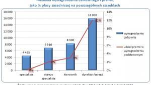 Wynagrodzenia na stanowiskach IT w 2011 roku (2), źródło: Sedlak&Sedlak.