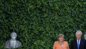Angela Merkel i Mario Monti