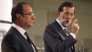 Francois Hollande i Mariano Rajoy