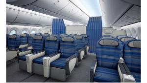 Wnętrze Boeinga 787 Dreamliner PLL LOT. Źrodło: materiały prasowe LOT