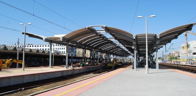 Budowa stacji kolejowej w Katowicach (12) fot. PKP Polskie Linie Kolejowe S.A.